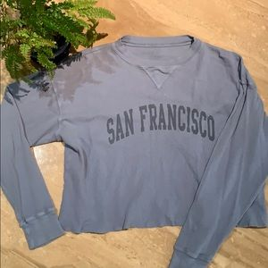 "Brandy Melville ""San Francisco"" shirt"